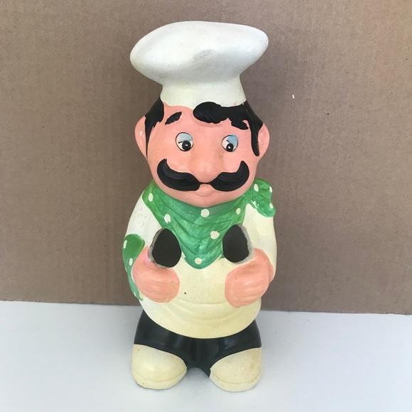 Vintage Chef Utensil Holder